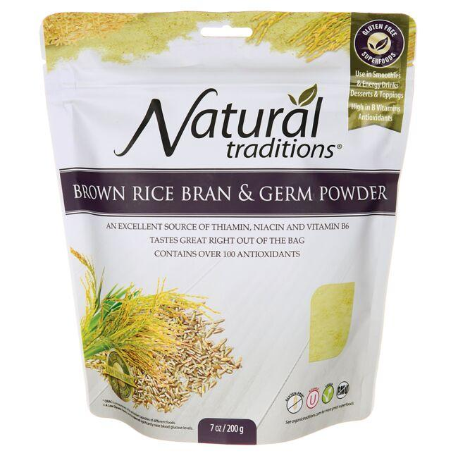 Organic TraditionsBrown Rice Bran & Germ Powder