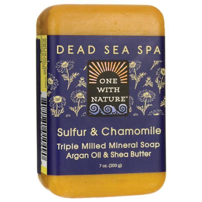 One With NatureDead Sea Spa Sulfur & Chamomile Mineral Soap