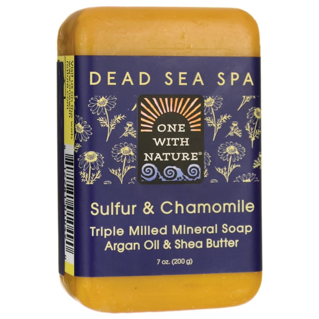 One With NatureDead Sea Spa Sulfur & Chamomile Mineral Soap