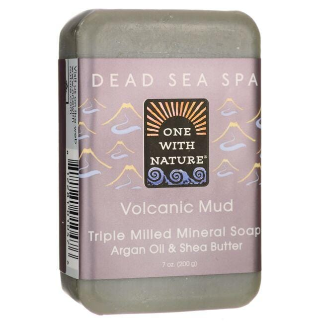 One With NatureDead Sea Spa Volcanic Mud Mineral Soap