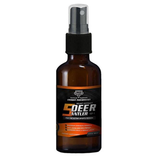 OxyLifeDeer Antler Velvet Extract IGF-1 Spray