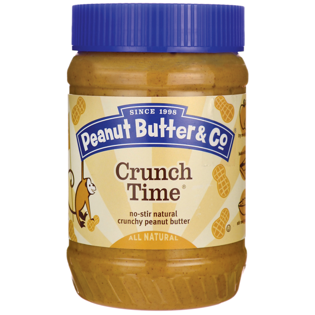 Peanut Butter & Co Crunch Time Peanut Butter