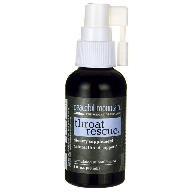 Peaceful Mountain Throat Rescue Spray