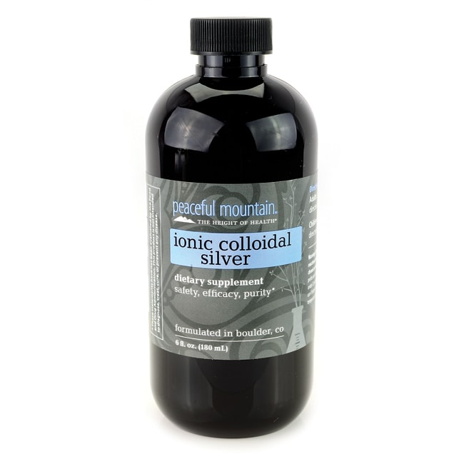Peaceful MountainIonic Colloidal Silver