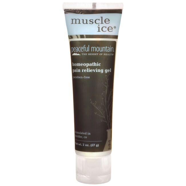 Peaceful MountainMuscle Ice Homeopathic Pain Relieving Gel