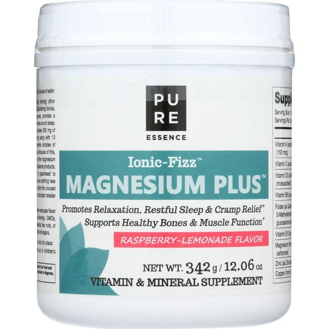 Pure Essence Ionic-Fizz Magnesium Plus - Raspberry-Lemonade