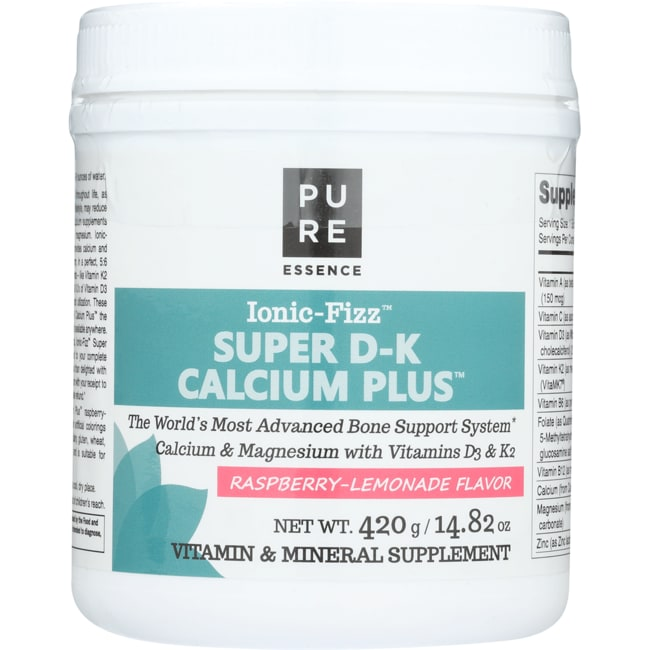 Pure EssenceIonic-Fizz Super D-K Calcium Plus - Raspberry Lemonade