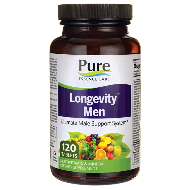 Pure Essence Longevity Anti-Aging Multiple - Men's Formula