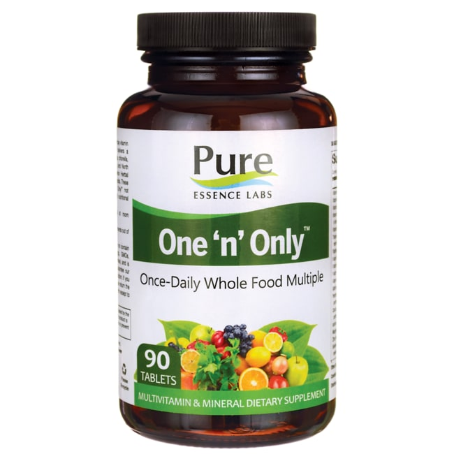 Pure EssenceOne 'n' Only Once-Daily Whole Food Multiple