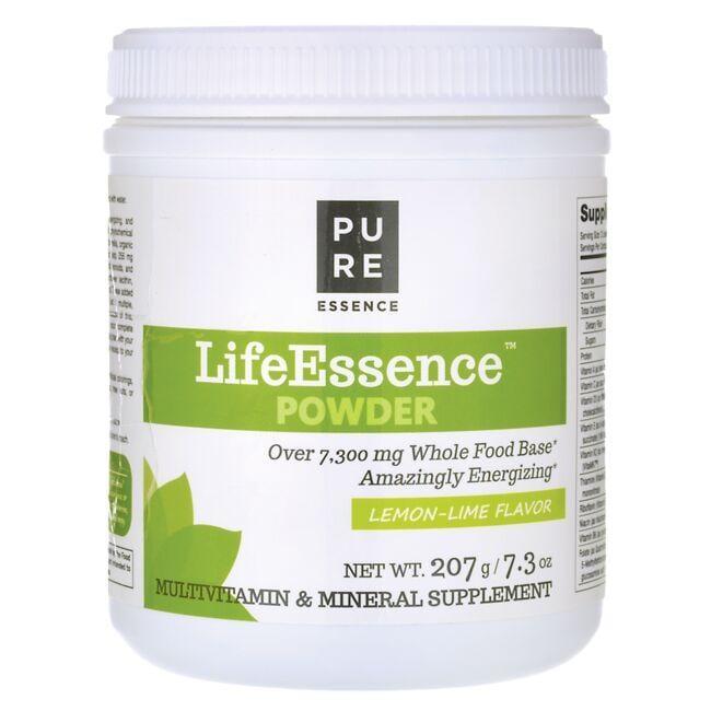 Pure EssenceLifeEssence Powder Multivitamin & Mineral - Lemon-Lime