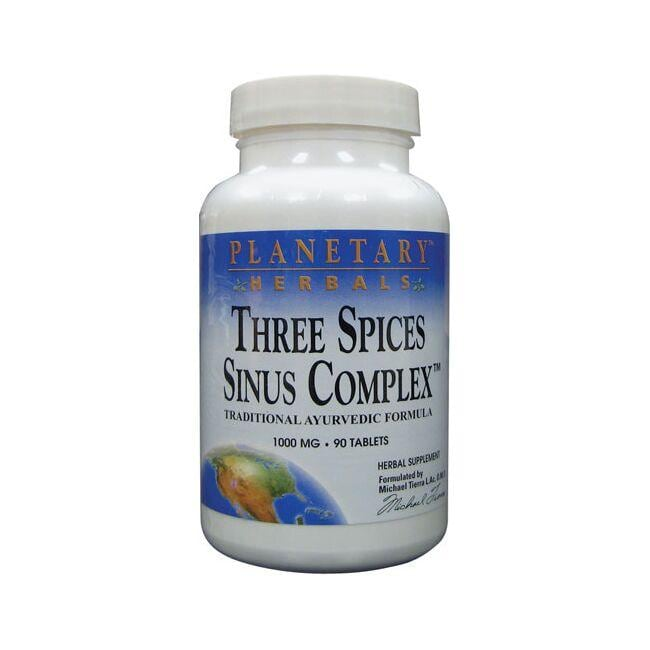 Planetary HerbalsThree Spices Sinus Complex