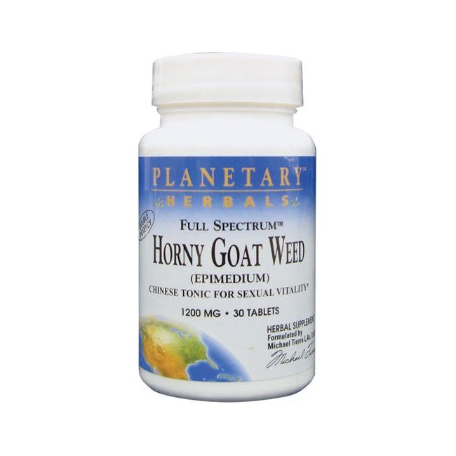 Planetary Herbals Hierba de cabra en celo de amplio espectro