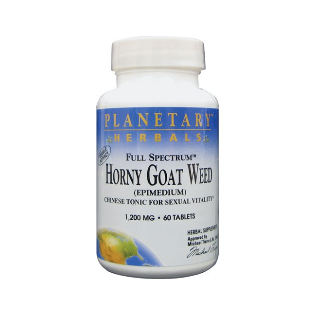 Planetary Herbals Full Spectrum Horny Goat Weed
