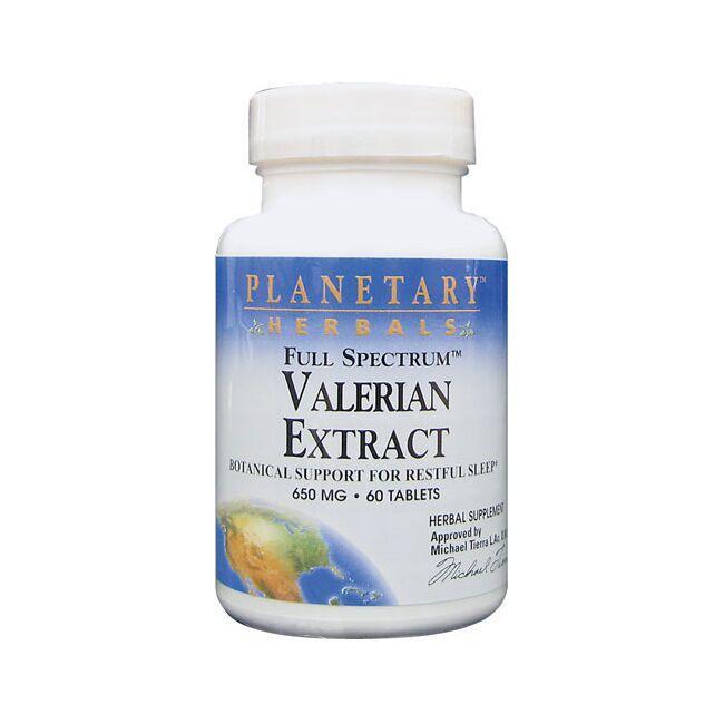 Planetary HerbalsFull Spectrum Valerian Extract