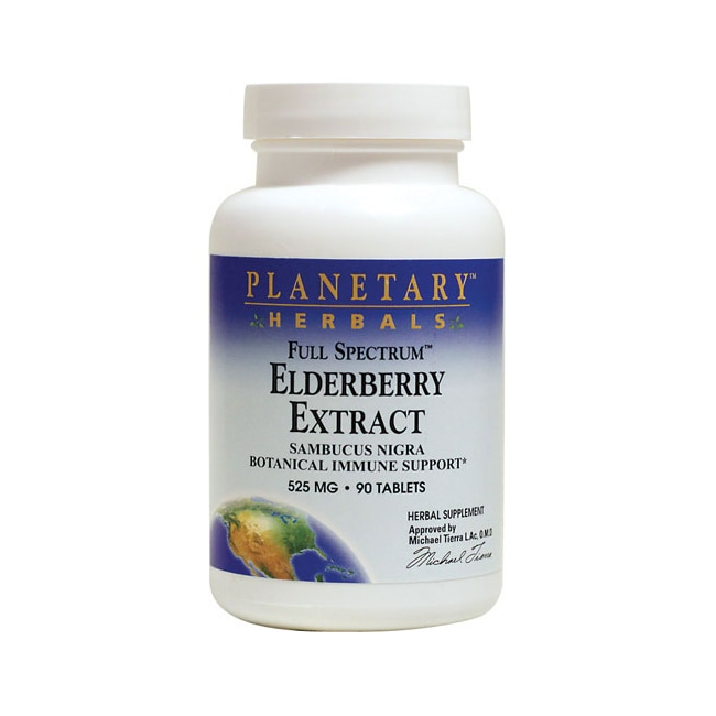 Planetary Herbals Elderberry Extract Full Spectrum