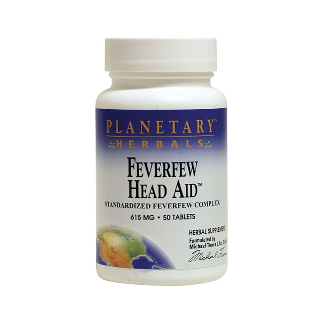 Planetary Herbals Feverfew Head Aid
