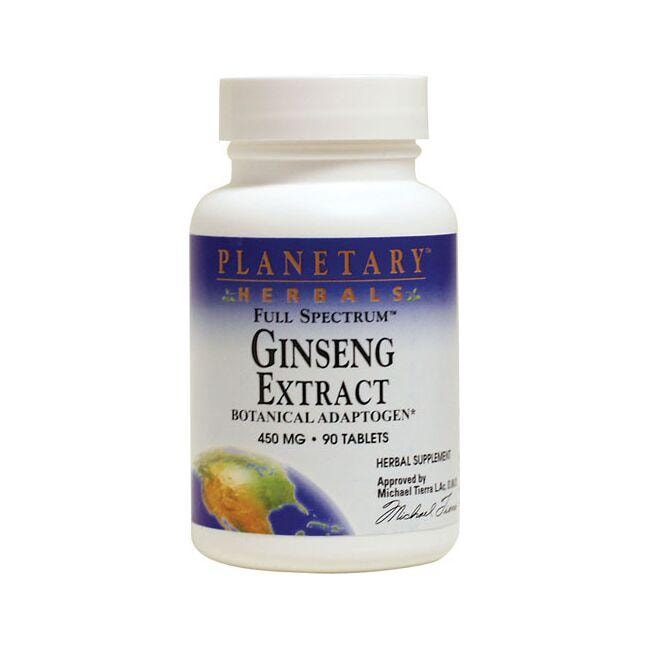 Planetary Herbals Ginseng Extract Full Spectrum