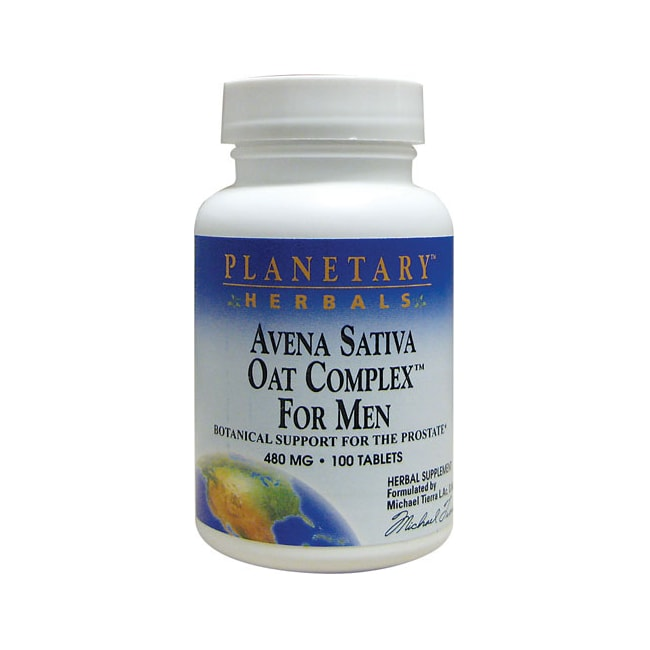 Planetary Herbals Avena Sativa Oat Complex for Men