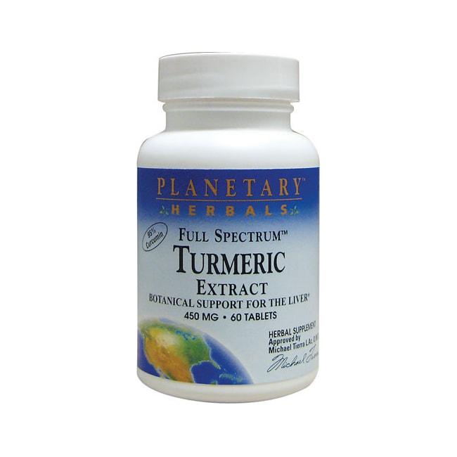 Planetary HerbalsTurmeric Extract Full Spectrum