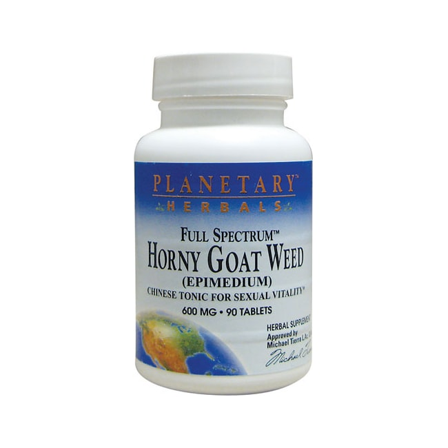 Planetary Herbals Horny Goat Weed Full Spectrum