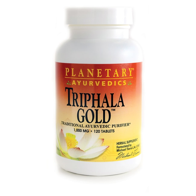 Planetary Herbals Ayuervedic Triphala Gold