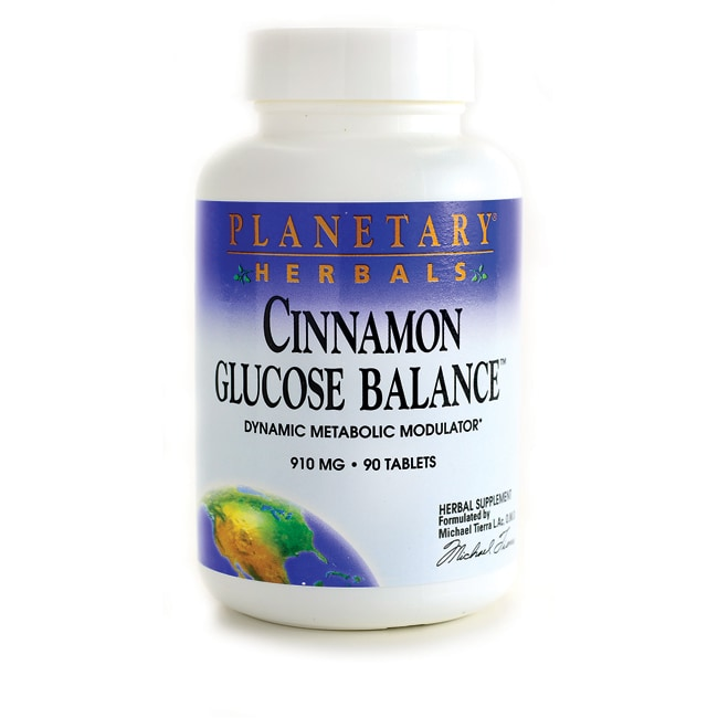 Planetary Herbals Cinnamon Glucose Balance