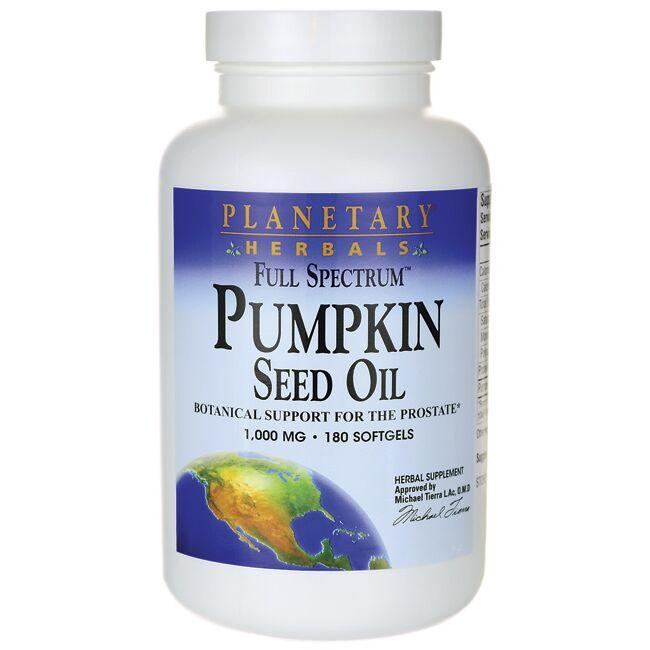 Planetary Herbals Full Spectrum Pumpkin Seed Oil