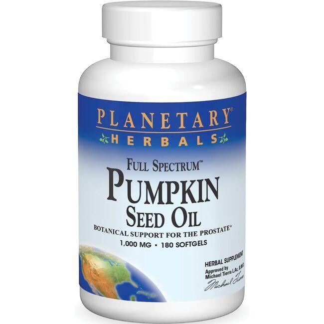 Planetary HerbalsFull Spectrum Pumpkin Seed Oil