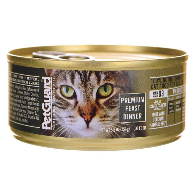PetGuard Canned Cat Food Premium Feast Dinner