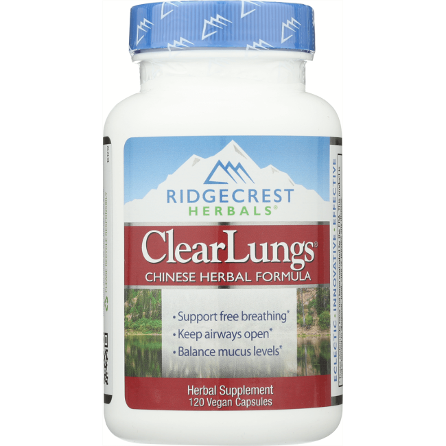 Ridgecrest Herbals Clear Lungs