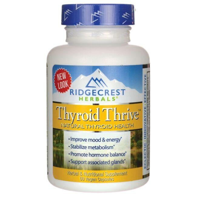 Ridgecrest Herbals Thyroid Thrive
