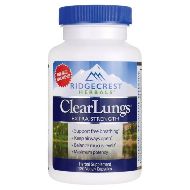 Ridgecrest Herbals Extra Strength ClearLungs