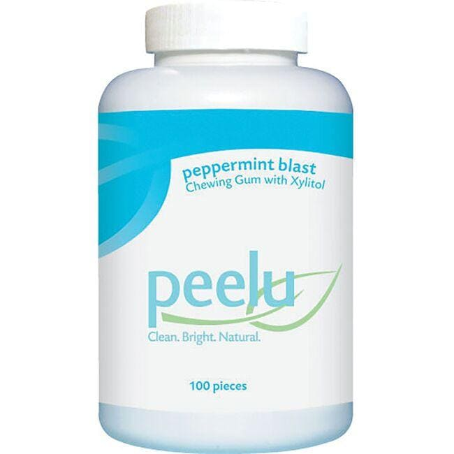 PeeluPeppermint Blast Chewing Gum with Xylitol