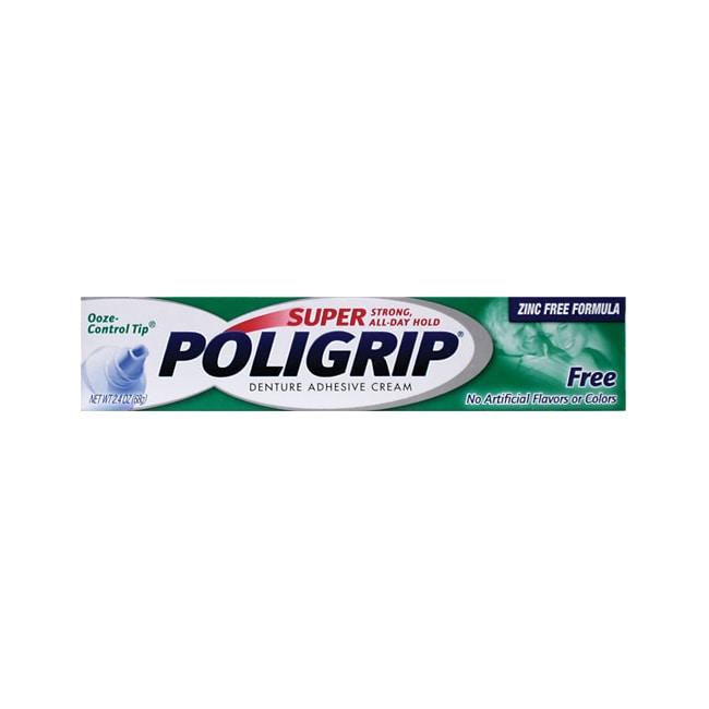 Poligrip Super Poligrip Denture Adhesive Cream