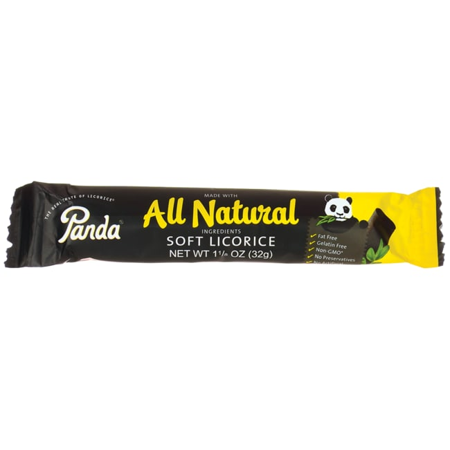 Panda Licorice All Natural Soft Licorice Bar