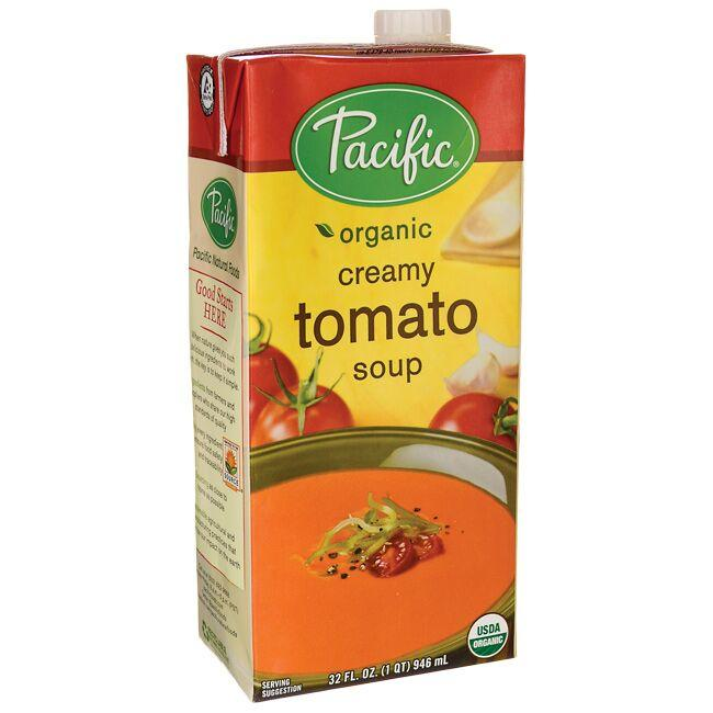 Pacific Foods Organic Creamy Tomato Soup 32 fl oz Package
