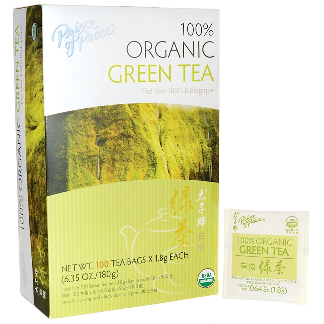 Prince of Peace 100% Organic Green Tea