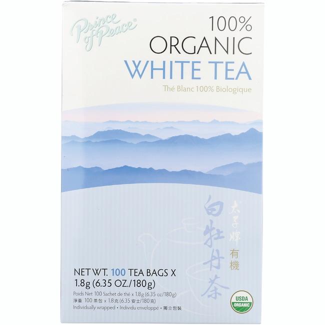 Prince of Peace 100% Organic White Tea