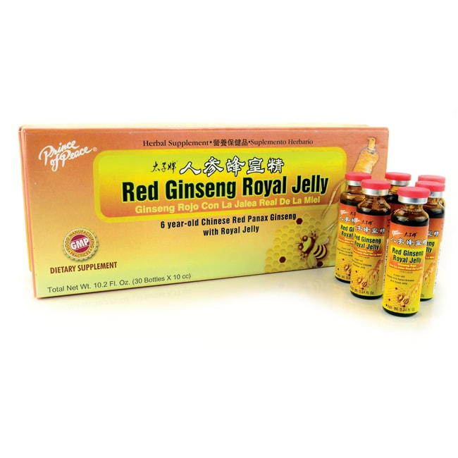 Prince of PeaceRed Ginseng Royal Jelly