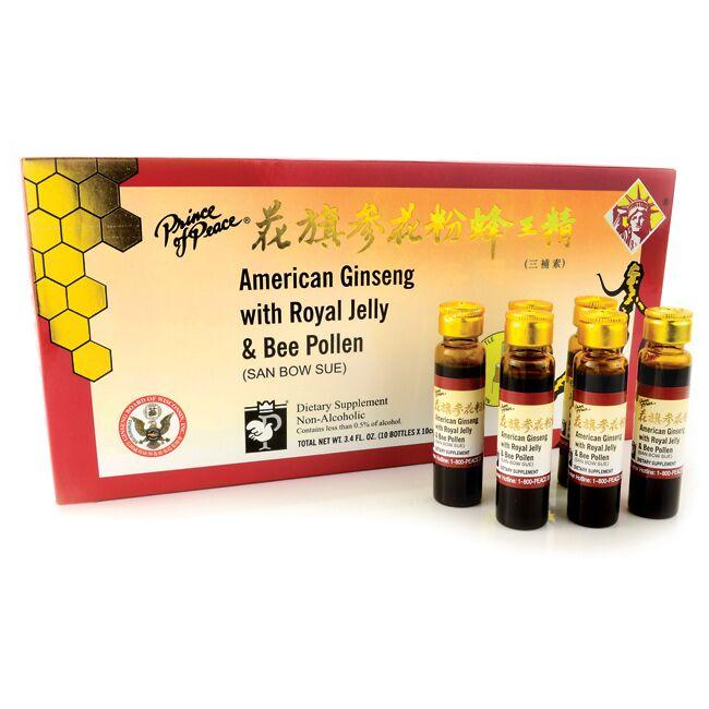 Prince of Peace American Ginseng w/ Royal Jelly & Bee Pollen