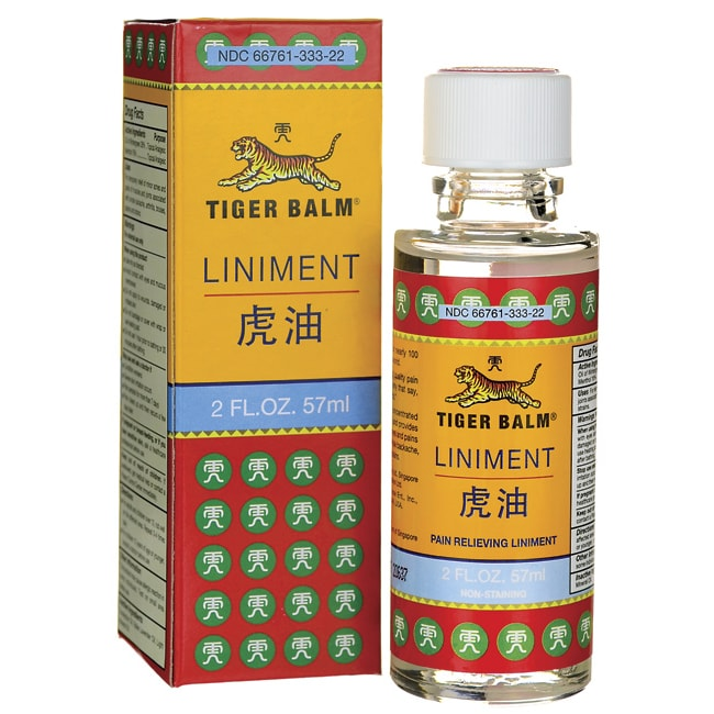 tiger balm liniment 2 fl oz liquid   swanson health products