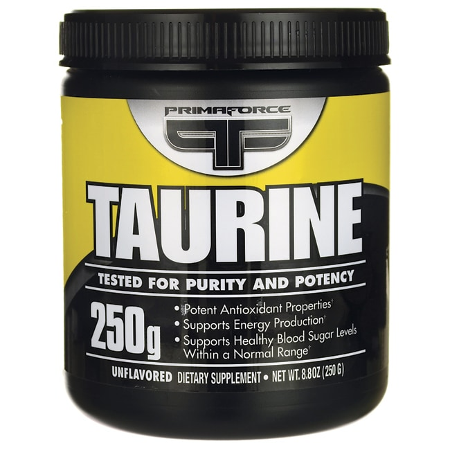 Taurine is made from