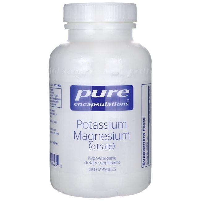 Pure EncapsulationsPotassium Magnesium (citrate)