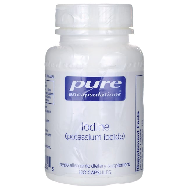 Pure EncapsulationsIodine (potassium iodide)
