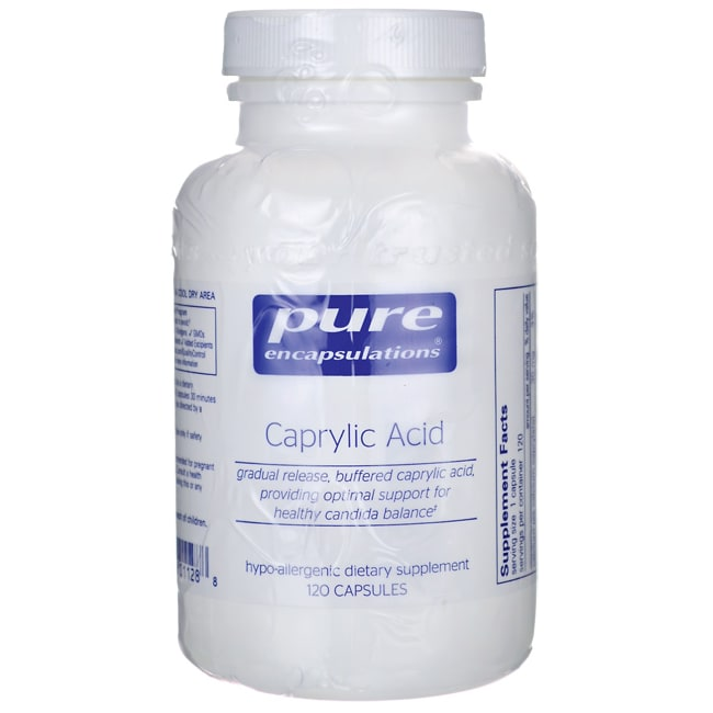 Pure EncapsulationsCaprylic Acid
