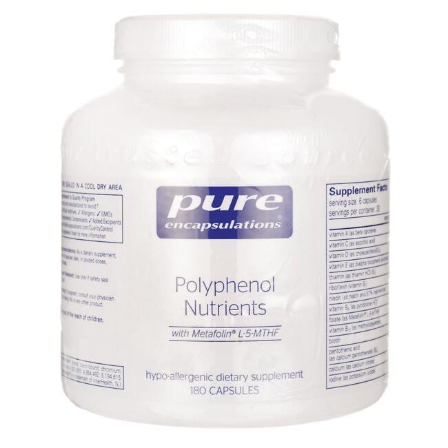 Pure Encapsulations Polyphenol Nutrients