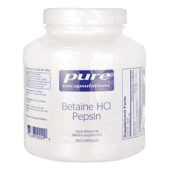 Pure EncapsulationsBetaine HCl Pepsin