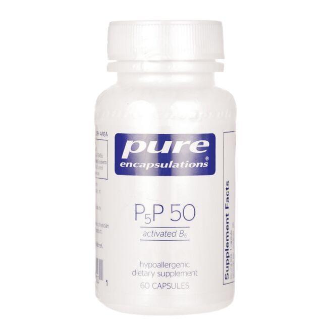 Pure EncapsulationsP5P 50 - Activated B6