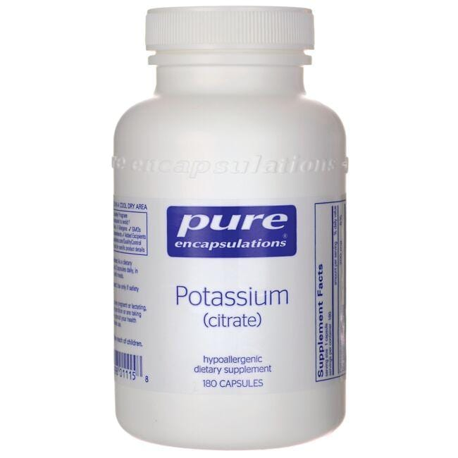 Pure Encapsulations Potassium (citrate)