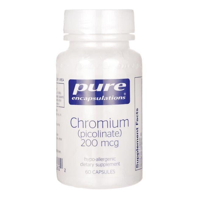 Pure Encapsulations Chromium (picolinate)